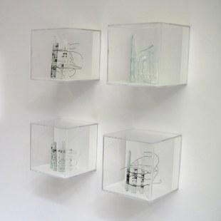 Fragile Shore sculpture quartet