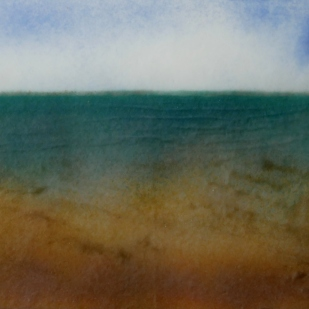 Changing Light : Glass Collagraph