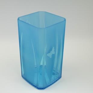 Recycled Bottle Vase (Gin)